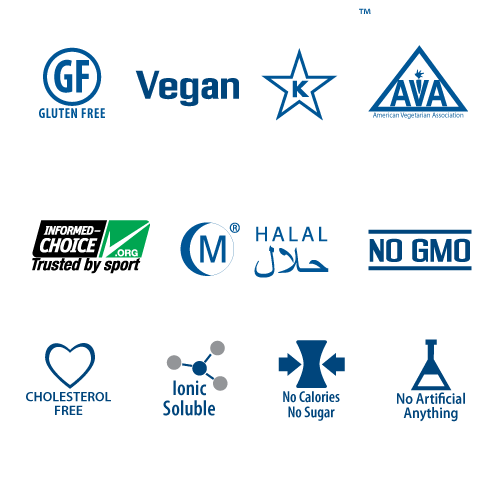 elete Nutritional icons