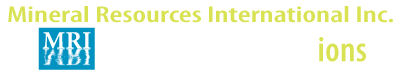 Mineral Resources International Inc. Logo