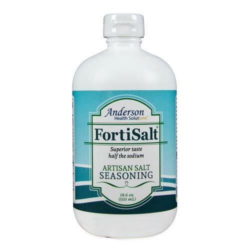 FortiSalt 550ml Kitchen Size Artisan Salt