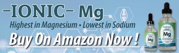 Magnesium ad for Amazon